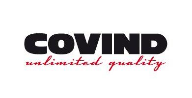Covind unlimited quality logo