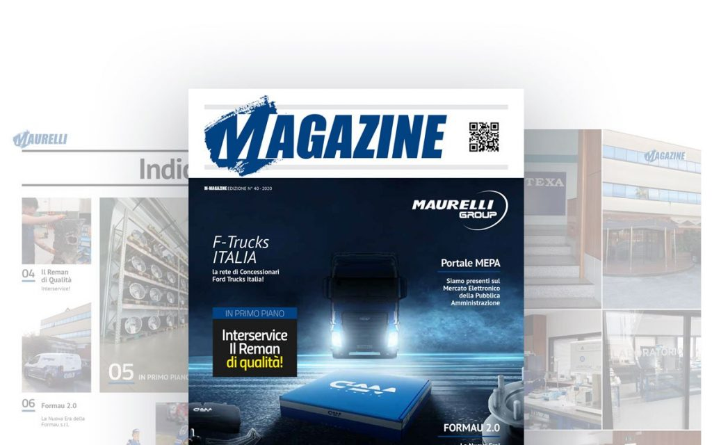 Copertina Maurelli Magazine