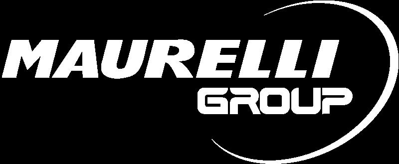 Maurelligroup logo bianco